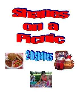 Shapes on a Picnic Differentiated Learning Center Flip Books
