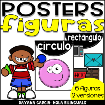 Shapes posters- FIGURAS SPANISH