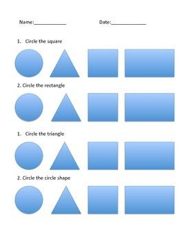 Shapes quiz