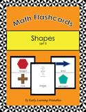 Shapes  (set II) Math Flashcards