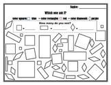 Shapes (square, diamond, rectangles)