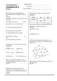 Shapes test (flow, networks, area, composite shapes, volume)