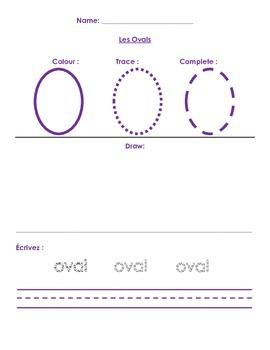 Shapes (trace, draw, write, shape hunt)