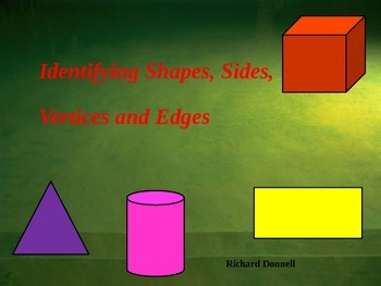Shapes, vertices and faces