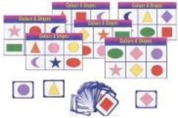 Shapes/Colours Memory/Bingo