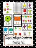 Shapes/Las Figuras Geométricas Preschool Pack
