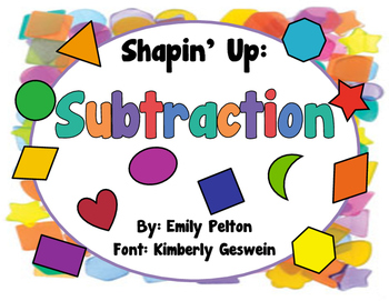 Shapin' Up: Subtraction (K-1)