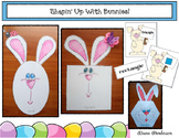 Easter Craft 2D & 3D Shapes With a Bunny Craft Games & Emergent Reader