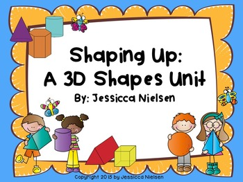 Shaping Up: A Shapes Bundled Package