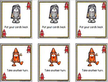 Shaping Up For School!:  LOW PREP Shape Card Game