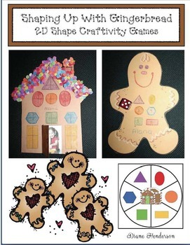 Shaping Up With Gingerbread: Crafty Games For 2D Shapes