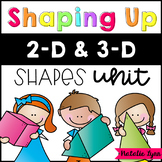 Shaping Up - a 2D and 3D Shape Unit