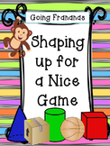 Shaping Up for a Nice Game -- Geometry Review Game