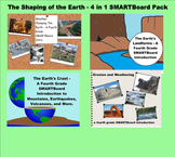 Shaping of the Earth - A Fourth Grade SMARTBoard Introduction