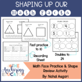 Shaping up our Math Facts
