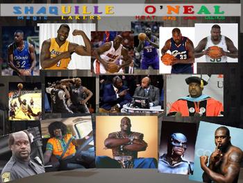 Shaquille O'Neal: Basketball Legend - Fun PPT and handout (High DOK Engagement)