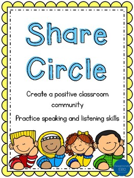 Share Circle: A Show and Tell Inspired Activity