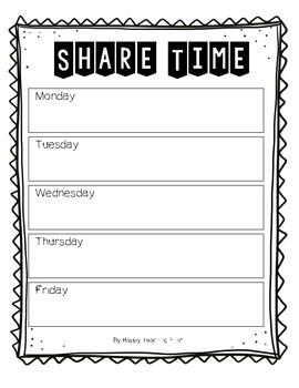 Share Schedule