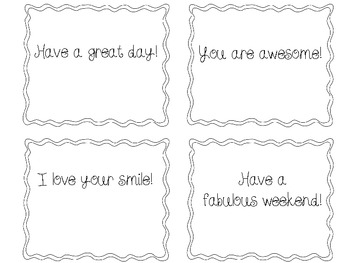 Share Some Kindness Notes (FREE)
