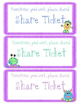 Share Tickets