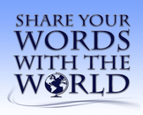 Share Your Words With The World 8 x 10 Classroom Poster