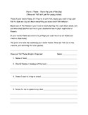 Share a Book's Theme assignment plus graphic organizer