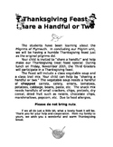 Share a Handful Thanksgiving Feast