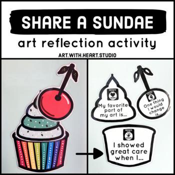 Share a Sundae Art Reflection Activity
