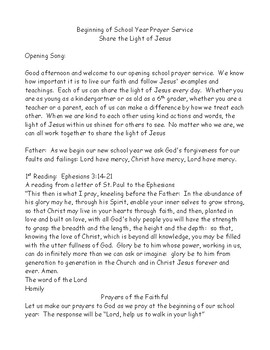 Share the Light of Jesus