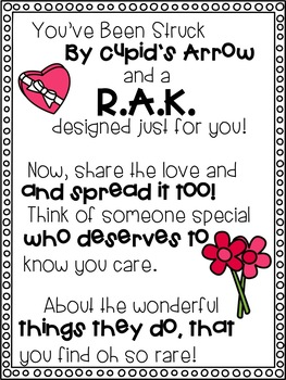 R.A.K. Activities for February {Share The Love} #weholdthesetruths