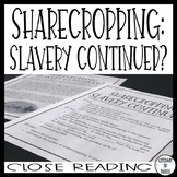 Sharecropping Close Reading