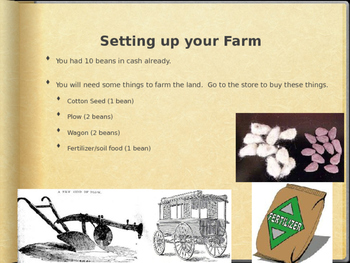 Sharecropping Simulation