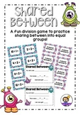 Shared Between - A fun division game to practice sharing into equal groups!