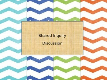 Shared Inquiry Discussion Introduction