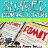 Shared Journal Covers {Editable}