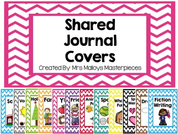 Shared Journal Covers