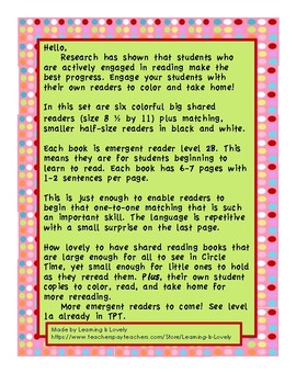 Shared Reading Big Books Plus Student Books: Perfect For Guided Reading