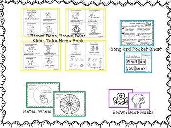 Shared Reading – Brown Bear and Buddies with Extension Activities