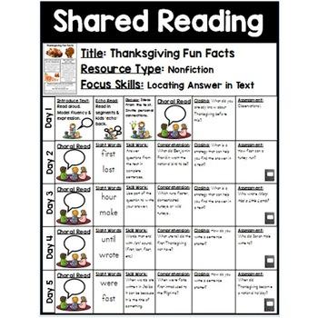 Shared Reading {Bundle 2}