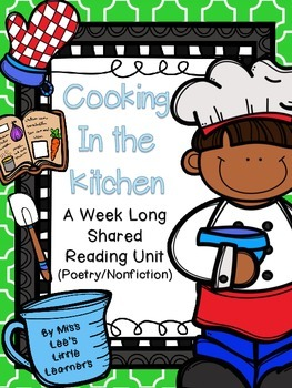 Shared Reading: Cooking in the Kitchen (poetry/nonfiction)