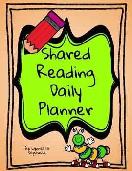 Shared Reading Daily Planner