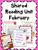 Shared Reading February Poems Kindergarten
