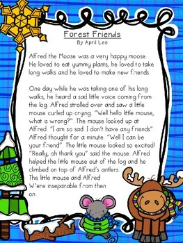 Shared Reading: Forest Friends (fiction)