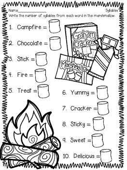 Shared Reading: How to Make a S'more (nonfiction)