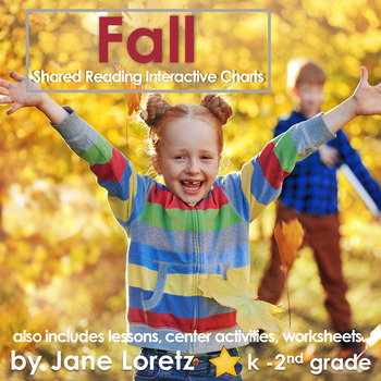 Shared Reading Interactive Charts for Fall
