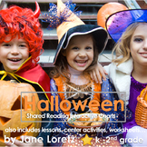 Shared Reading Interactive Charts for Halloween