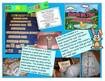 Shared Reading Interactive Charts for Spring
