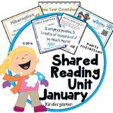 January Winter Poems Kindergarten Shared Reading Unit
