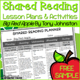 Shared Reading Lesson Plans & Activities FREE SAMPLE: Big
