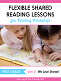 Shared Reading Lessons for Reading Workshop: First Grade Unit 2